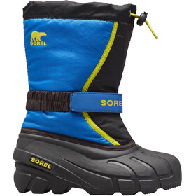 Sorel Flurry Boots Kinderen, black/super blue